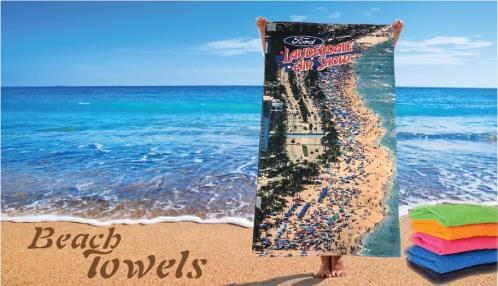 20 COLOR IN BEACH TOWEL